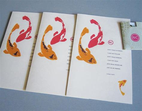 Wedding Invitations Asian Theme by Goes Wedding 187 Honolulu Asian Fish Wedding Invitation