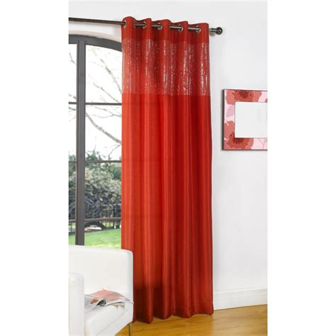 glamour curtains dreams n drapes glamour red single silk voile panel 55 quot x