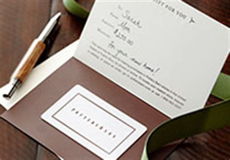 Potteries Gift Card - gift card pottery barn