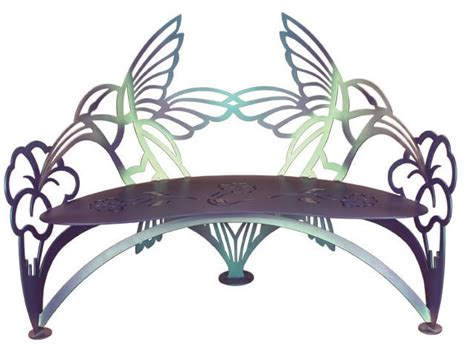 hummingbird garden bench benches