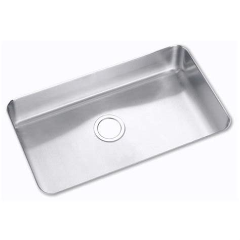 Elkay Plumbing by Elkay Single Bowl Kitchen Sink Elu2816 Kitchen Sink