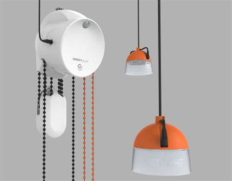 Gravity Lights by Electronics Backs Uk Weight Powered Grid Lighting