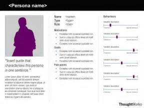 Design Persona Template by Explaining Personas Used In Ux Design Part 2 Melbourne