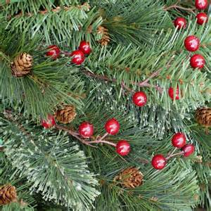 home holiday 7 5 ft unlit decorated yonkers pine cones