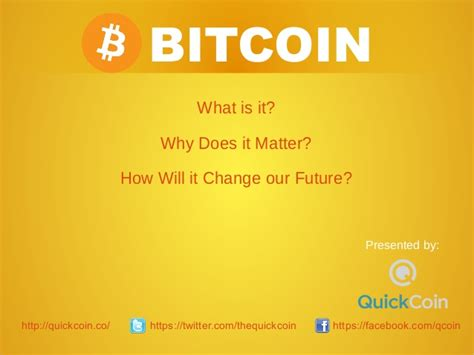 bitcoin tutorial ppt what is bitcoin and why is it important