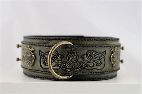 ketu handmade vintage collar harakhan kennel
