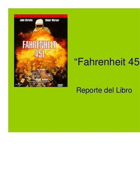 libro fahrenheit 451 fahrenheit 451