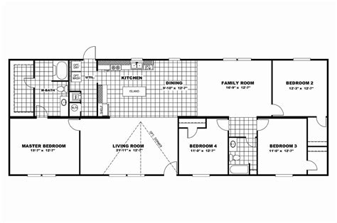 16 x 80 mobile home floor plans 16 x 80 mobile home floor plans lovely house plans 30 x 40