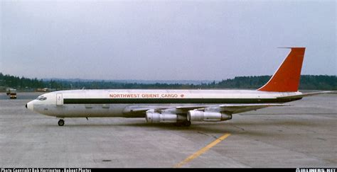 boeing 707 351c northwest orient airlines cargo aviation photo 0170158 airliners net