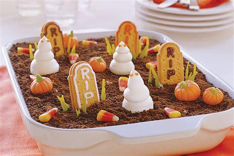 imagenes recetas halloween fantasmas en el cementerio receta comida kraft