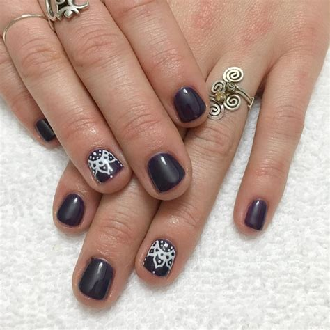 easy nail art by hand 20 simple nail art designs ideas design trends