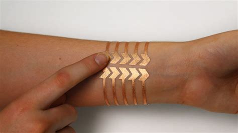 henna tattoo haram mit and microsoft research made a smart tattoo that