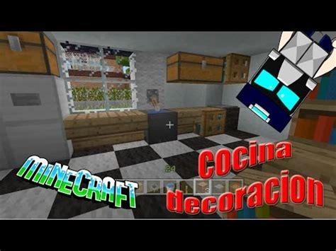 como decorar la cocina en minecraft access youtube