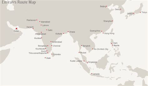 emirates route emirates route map asia