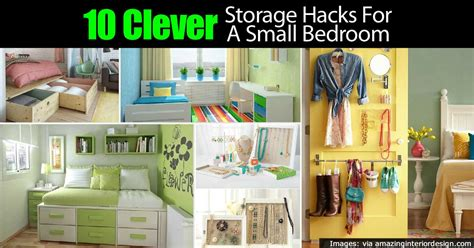 tiny bedroom hacks 10 clever tiny bedroom storage hacks