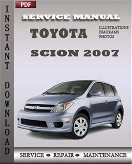 service manual download car manuals pdf free 2007 mitsubishi raider regenerative braking toyota scion 2007 service repair servicerepairmanualdownload com