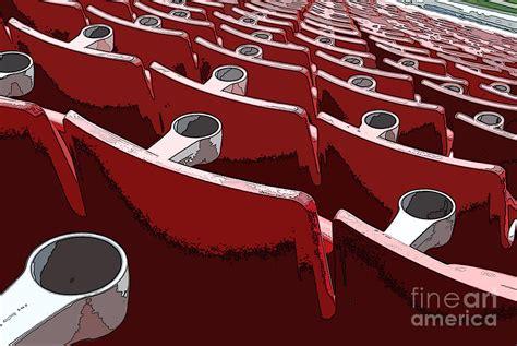 Gillette Stadium Gift Cards - gillette stadium seating photograph by guy harnett