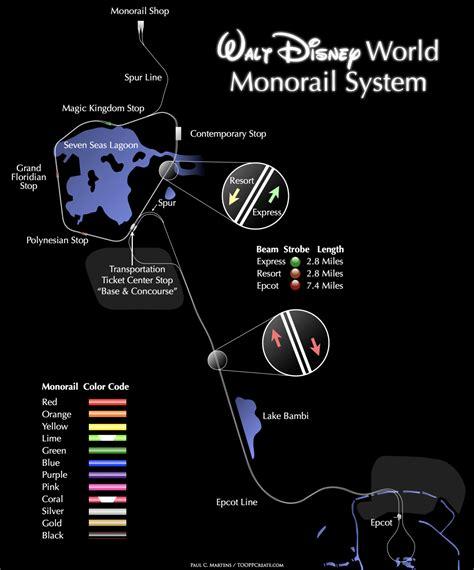 disney monorail map walt disney world monorail system wdw ride guide