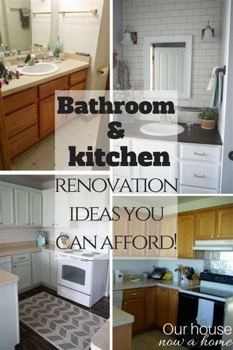 bathroom and kitchen renovations you can afford our