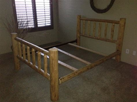 queen size log bed frame log bed frame for sale queen size classified ads