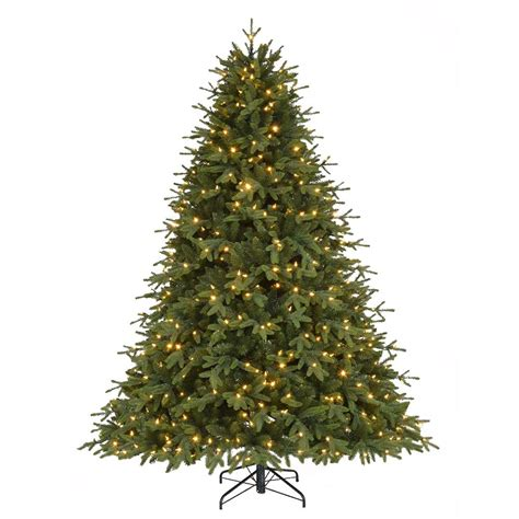 home accents holiday 7 5 ft pre lit led monterey fir