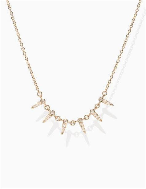Necklace Shain Gold Kalung Shain Gold necklaces moondance jewelry