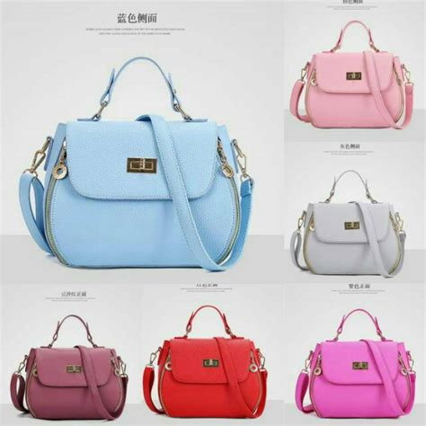 Tas Fashion Import Mini F129 restock bc82916 tas wanita tas selempang tas mini fashion bag batam import shopee indonesia