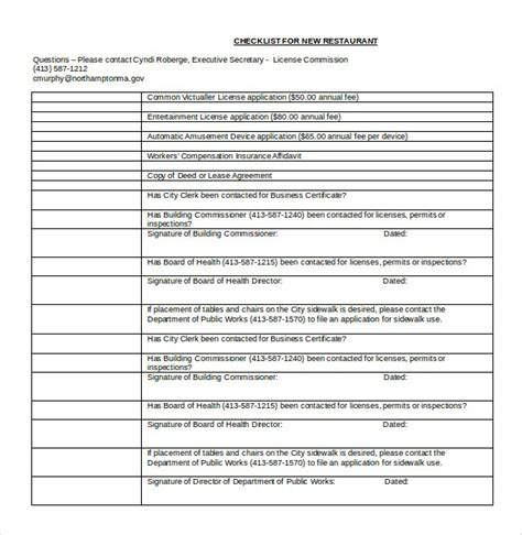 word checklist template 34 word checklist template exles in word free