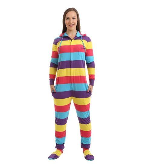pyjama anzug festival footed pajama suit funzee
