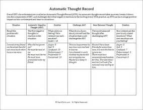 thought record worksheet worksheets for getadating