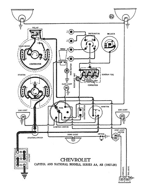 coil to distributor wiring diagram wiring diagram