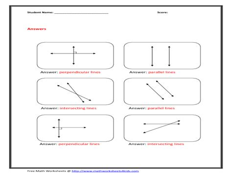 Intersecting Parallel And Perpendicular Lines Worksheet by 7th Grade In Diagram 7th Free Engine Image For User