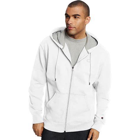 Jaket Vest Zipper Hoodie Dishonored 2 02 chion s powerblend 174 fleece zip jacket hoodie s0891