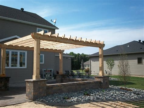 cedar patio cover kits pergola and patio cover ideas landscaping network