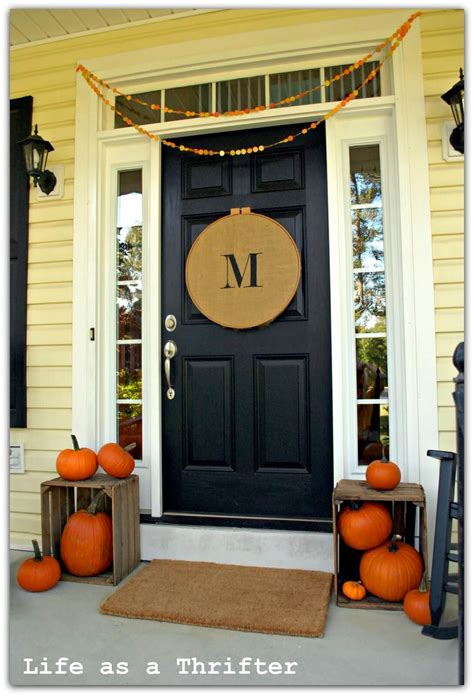 front door decorations ideas 25 best fall front door decor ideas and designs for 2017