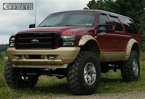 Ford Excursion Lift Kit by 2001 Ford Excursion Fuel Hostage Bds Suspension Suspension