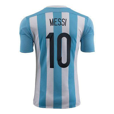 Jersey Adidas Lionel Messi adidas argentina lionel messi home jersey 2015 16 fifa world cup