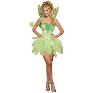 How To Make A Tinkerbell Costume For Adults tinkerbell costume for adults fairy halloween fancy dress