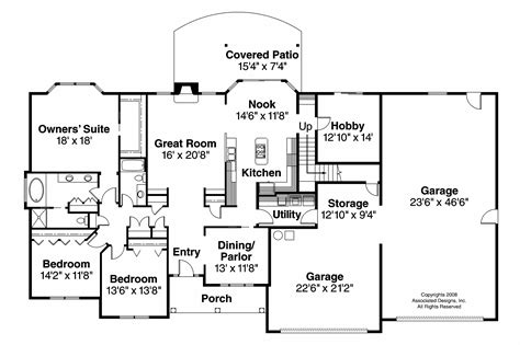 single floor country house plans single story georgian house floor plans single story