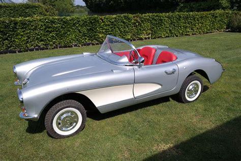 1956 corvette stingray junior replicas car model corvette stingray 1956 nieuw