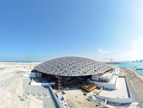 Beach House Building Plans by Construction Of Jean Nouvel S Louvre Abu Dhabi Well Underway