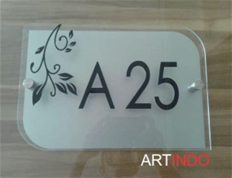 Nomor Rumah Acrylic category nomor rumah acrylic akrilik acrylic display