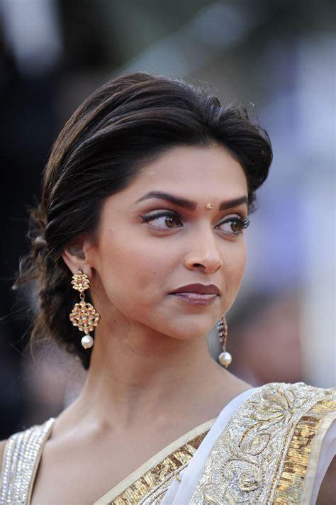 hairstyles in indian cinema deepika padukone saree photos latest actress pics