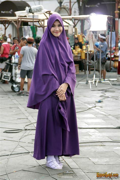 Zaskia Syar I berhijab syar i zaskia mecca suguhkan aneka hijabers di