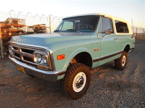 1972 gmc jimmy sell used 1972 gmc jimmy 4wd full convertible 4x4 new