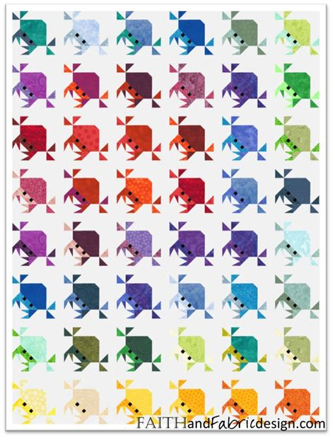Patchwork Fish Pattern - best 25 fish quilt ideas on fish quilt