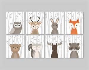 Animal Curtains For Nursery Baby Nursery Woodland Nursery Animals Baby Room Decor