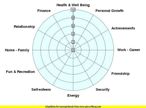 blank performance profile wheel template how balanced is your richard bosworth business strategy executive coaching