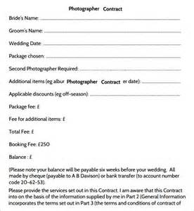 Photographer Contract Template by 25 Best Ideas About Photography Contract On