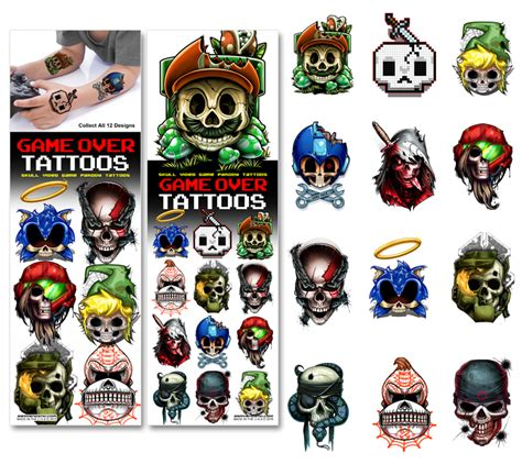 game over tattoo tattoos ssm vending